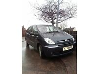 For sale 57 plate citroen xsara picasso 1.6