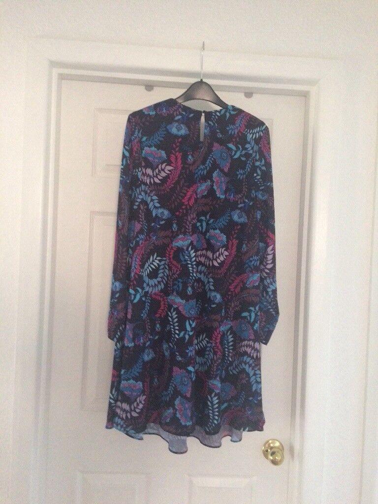 Monsoon summer dress. Size 14 | in Plymouth, Devon | Gumtree