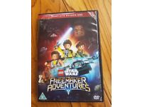 LEGO STAR WARS DVD X 2 - The Freemaker Adventures - Complete Season 1