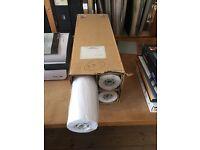 Rolls of A1 Paper