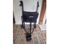 Mobility Walker 3 wheel Great Condition - includes seat and carry bag - very lightweight