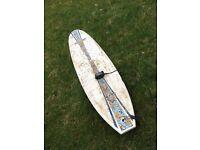 "7'9"" bic natural surf surfboard minimal"