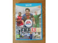 Nintendo Wii U Game Fifa 13 As New Condition