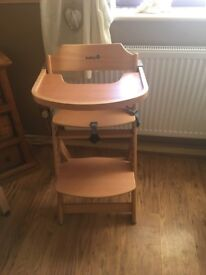 MOTHERCARE HIGH CHAIR - PRACTICALLY NEW NEVER USED