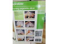 Spiralizer, turning vegetable slicer
