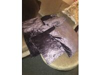 6 x Crushed Velvet Cushions
