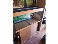 """large tank with stand 39""""x15""""x17"""" overall height 48"""". 150- 180 ltr"""