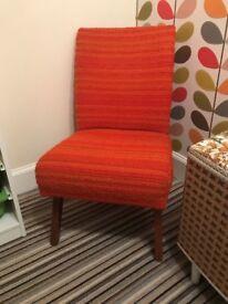 Retro Orange Chair