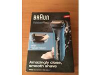 Braun water flex cordless shaver