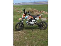 Lucky mx 125cc pit bike