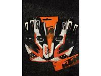 BRND NEW KTM LEATHER GLOVES FOR MOTORCROSS ,Offroad , Size XL