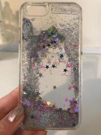Skinny dip glitter case iPhone 6/6s