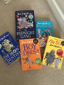 5 David Walliams best selling books