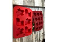 Christmas theme silicon moulds