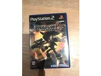 PlayStation 2 SHADOW THE HEDGEHOG