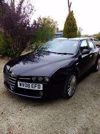 Stunning black alfa159 diesel 1. 9td immaculate condition