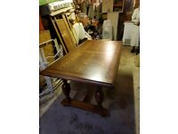 Dining Table and Chairs (x6)