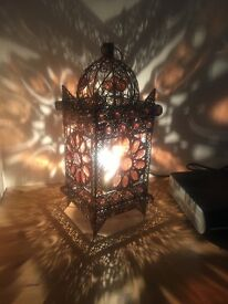 Moroccan style lamp