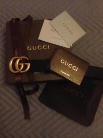 Gucci Double G MARMONT BELT 8-10
