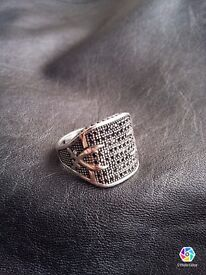 925 silver ring for man brand new item no : TC01