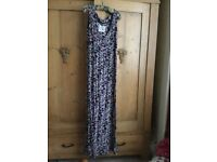 Fat face maxi dress, size 12