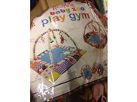 Red kite baby gym