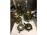 Silver plated teaset