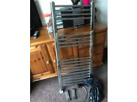Electric towel rail. Only used for 6 months. Electric.
