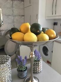 Chrome display stand /fruit/food/accessories /bathroom/bedroom