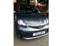 2012 Toyota Aygo 5-doors £0 ROAD TAX