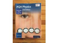 AQA AS/ A Level Physics books plus revision book x3. Willing to split.