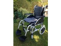 Wheelchair - Roma Medical Orbit, lightweight and easy to fold