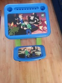 Ben 10 sit and draw creativity desk/ writing desk / table