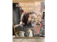 John Lennon poster large poster size £5 Available !