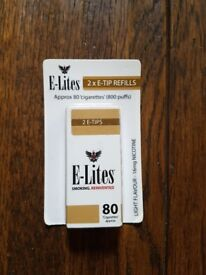E-Lites (now known as Logic) 2 x E-Tip Refills 16mg nicotine, light flavour