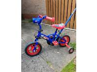 """10"""" child's first bike with parent handle"""