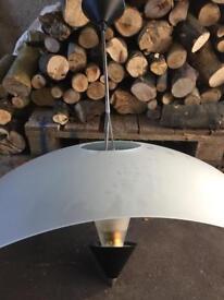 Retro pendant light large 55 cm across