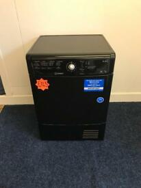 *** Black Indesit 8kg condensor dryer***Free Delivery & Removal***