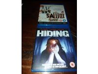 2 blue ray discs saw 3 & the hiding