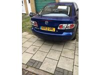 blue mazda 6 in good condition, some few scratched on body, good tyres, MOT till 01/2017,