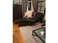 Designer sofa chaise like Andrew Martin, Boconcept, Camerich