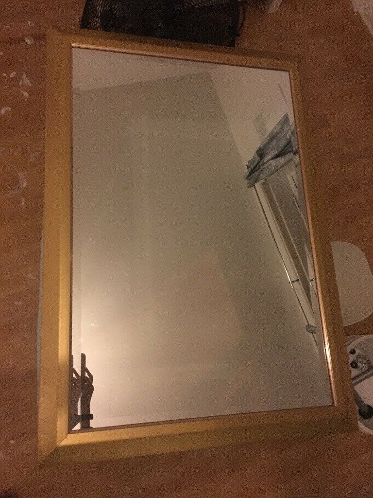 Large burnished Gold mirror bargain