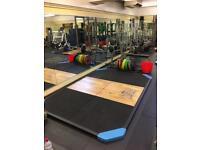 Exigo 3m x 2m Oak Centre Weight Lifting/ Olympic Lifting Platform