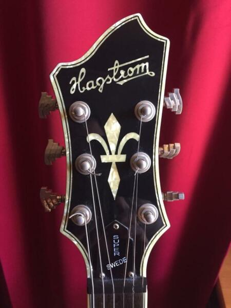 Hagstrom Super Swede for sale  Wigan, Manchester