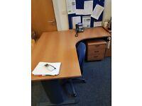 3 Under Desk Pedestals - 3 draw