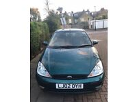 Ford Focus 1.6, 2002, automatic, 3 door in a great condition
