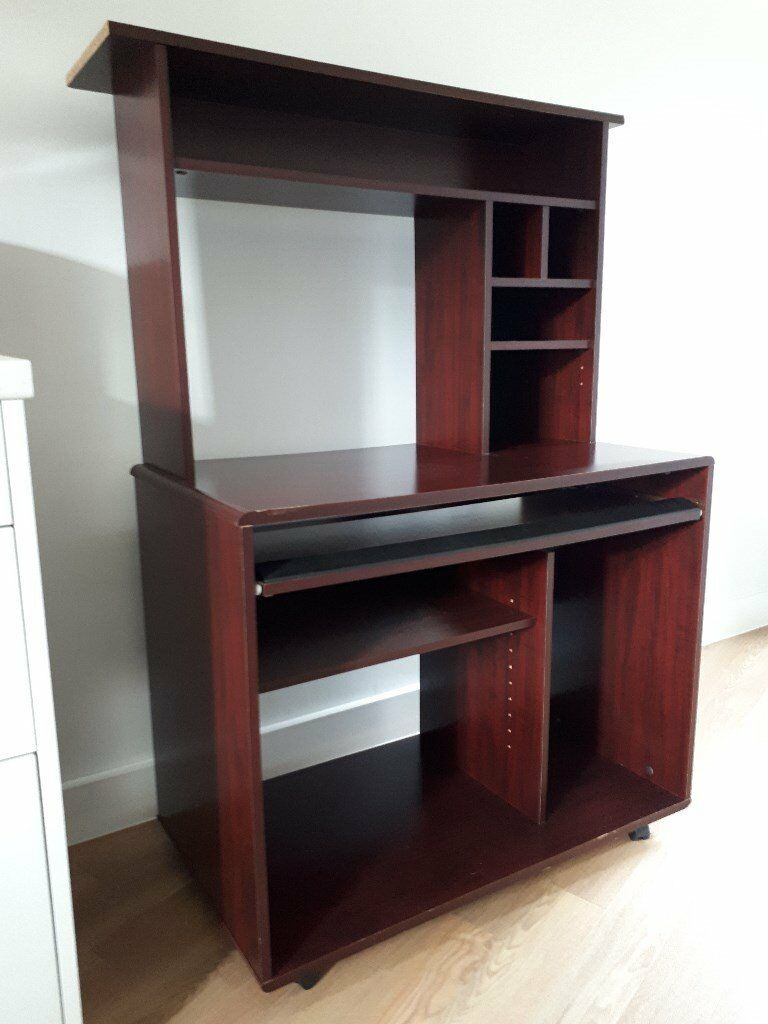 Home / office computer/printer work station desk
