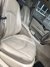 05 MERCEDES E320 CDI LEATHER INTERIOR SEATS AND DOOR CARDS
