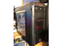 gaming PC 6th gen i7 6700 GTX 1060 6GB 16GB DDR4 240GB SSD 1TB HDD corsair spec-01