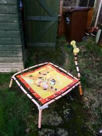 Trampoline with FREE scooter